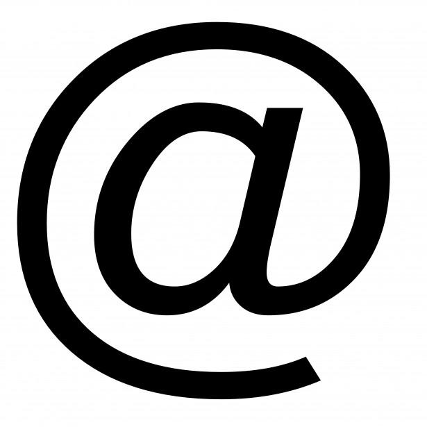 black-symbol-at